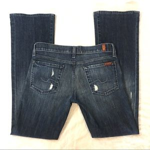 7 For All Mankind Bootcut Jeans Size 27